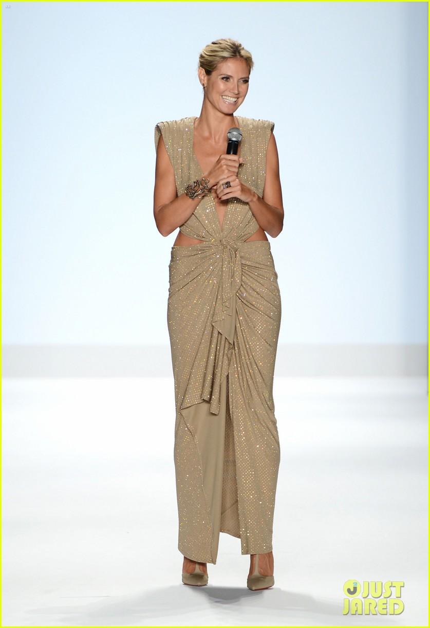 heidi klum jennifer hudson project runway fashion week 102716333
