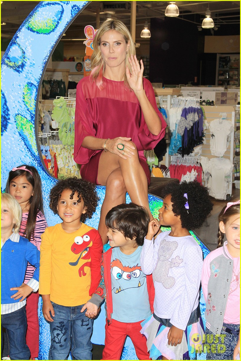 heidi klum truly scrumptious collection debut 102721827