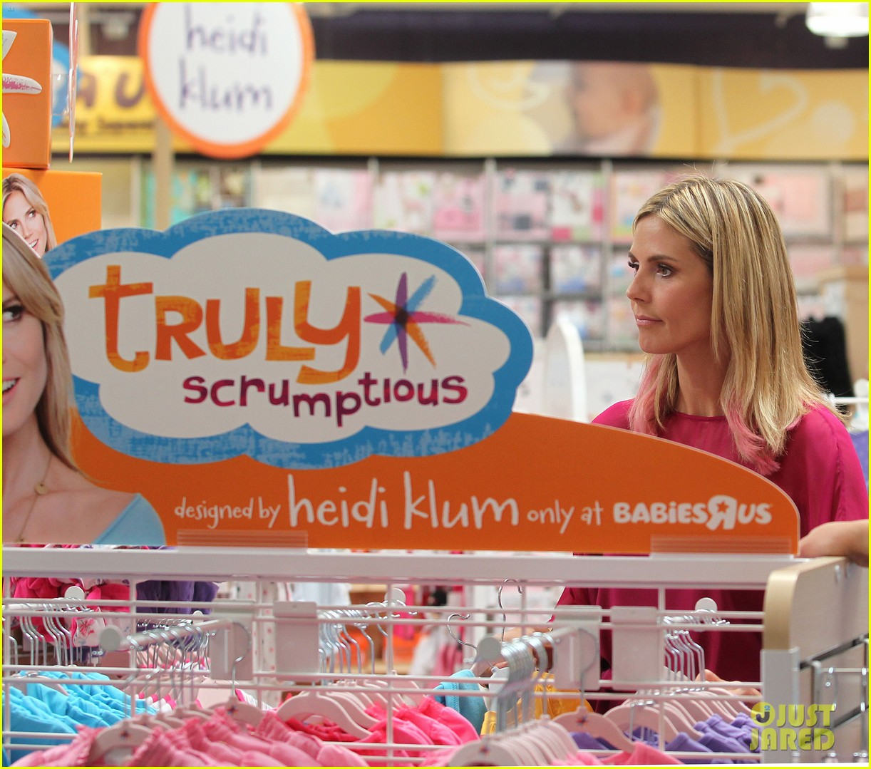 heidi klum truly scrumptious collection debut 112721828