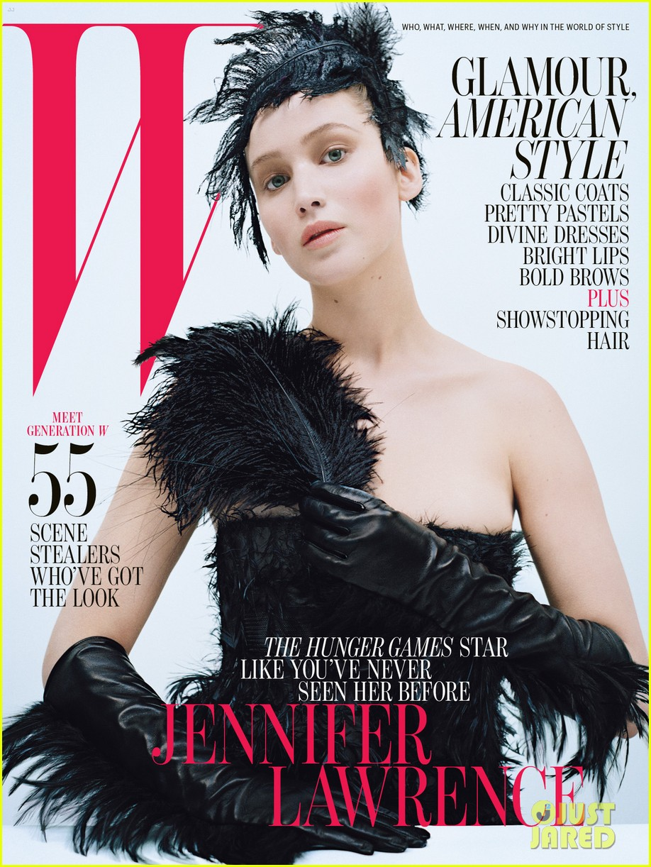 Jennifer Lawrence Covers 'W' Magazine October 2012: Photo