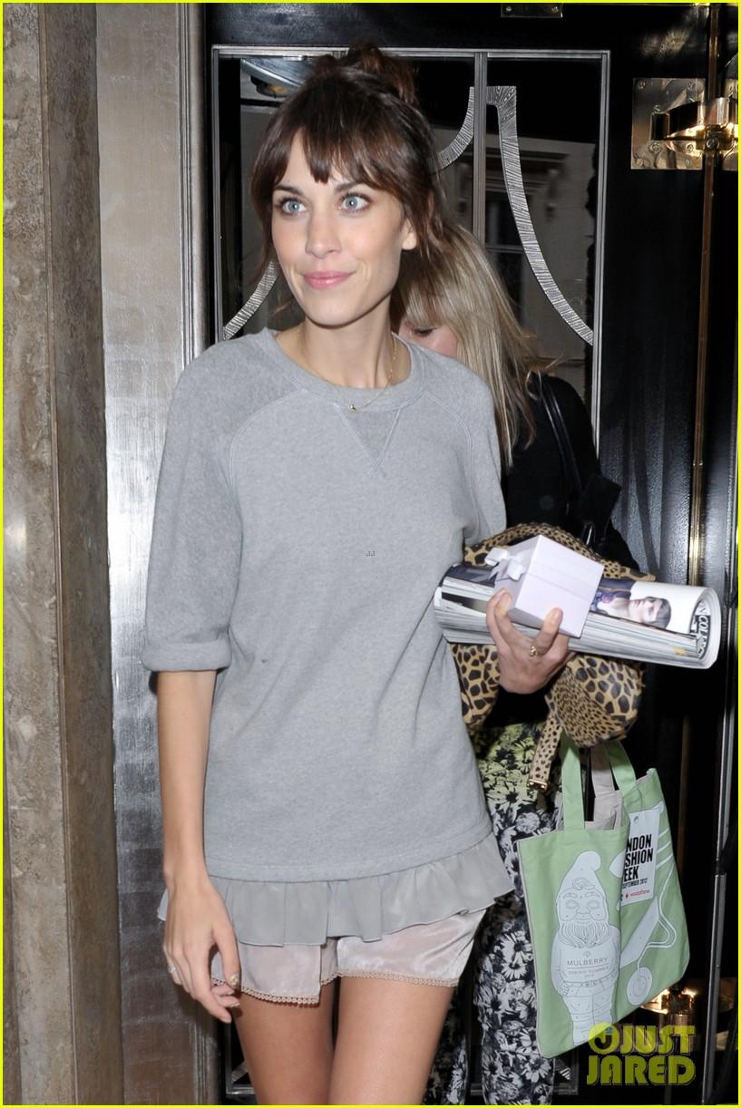 lana del rey mulberry show london fashion week 152724355