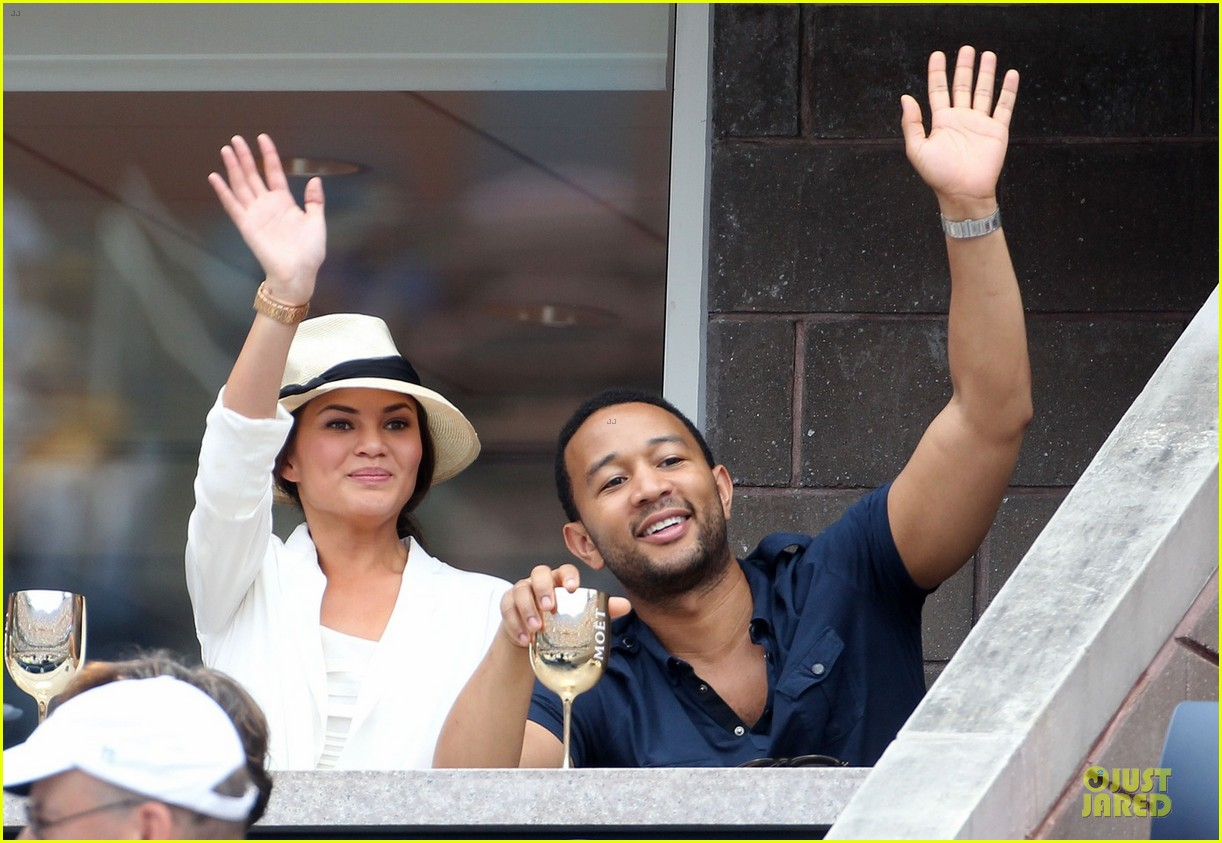 john legend chrissy teigen us open toast 022713654