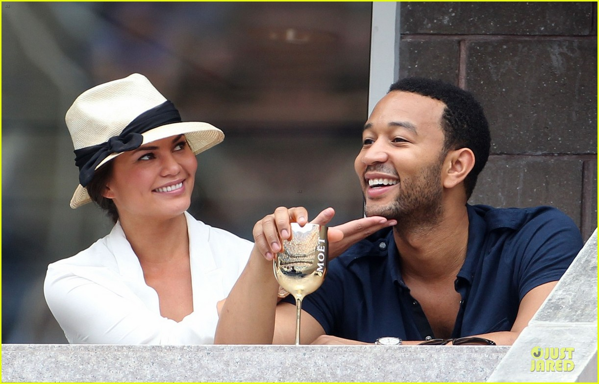john legend chrissy teigen us open toast 032713655