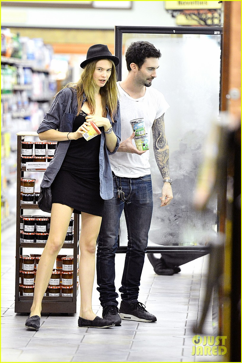 adam levine behati prinsloo stock up snacks 032720209