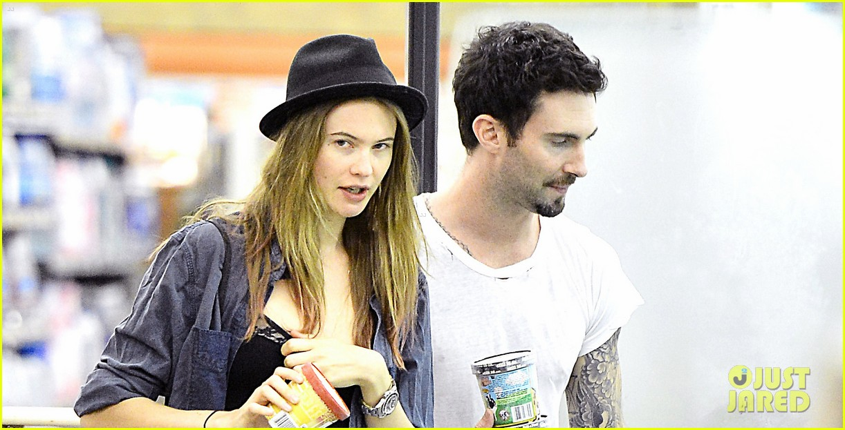 adam levine behati prinsloo stock up snacks 042720210