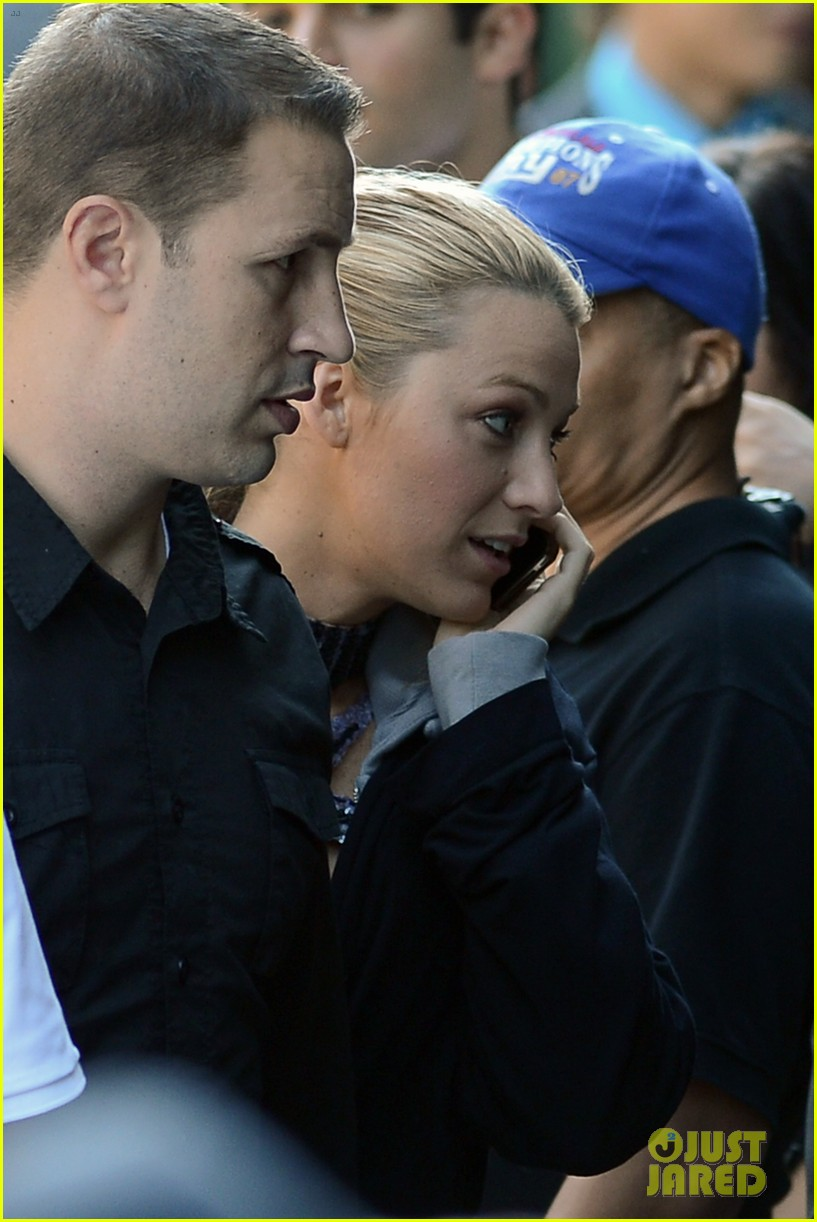 blake lively first post wedding sighting gossip girl set 082723568