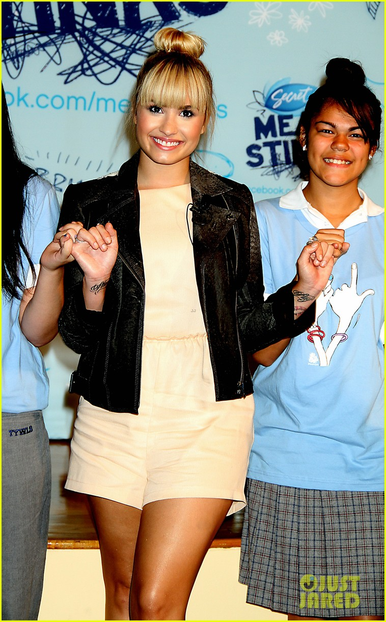 demi lovato mean sticks ambassador 10