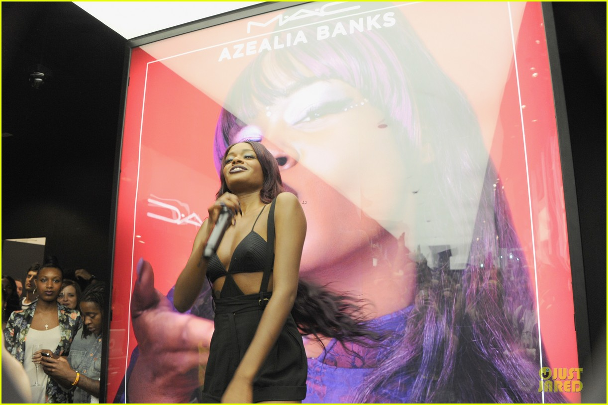 azealia banks mac fno performance 10