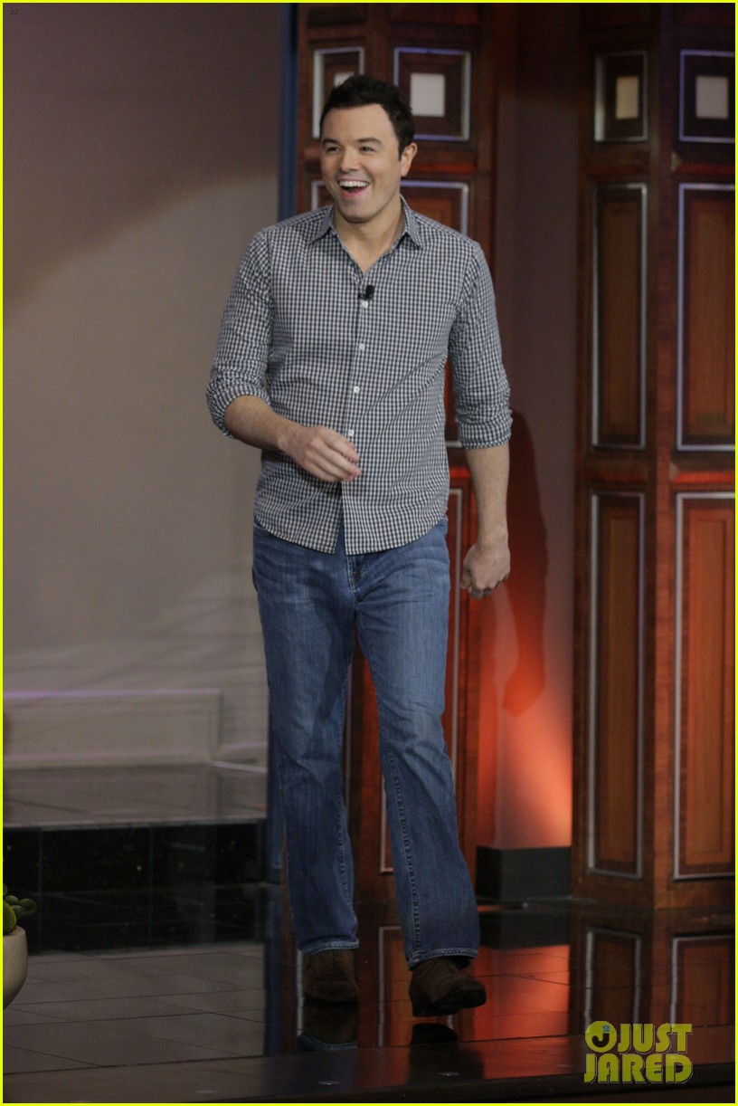 seth macfarlane tonight show with jay leno appearance 01