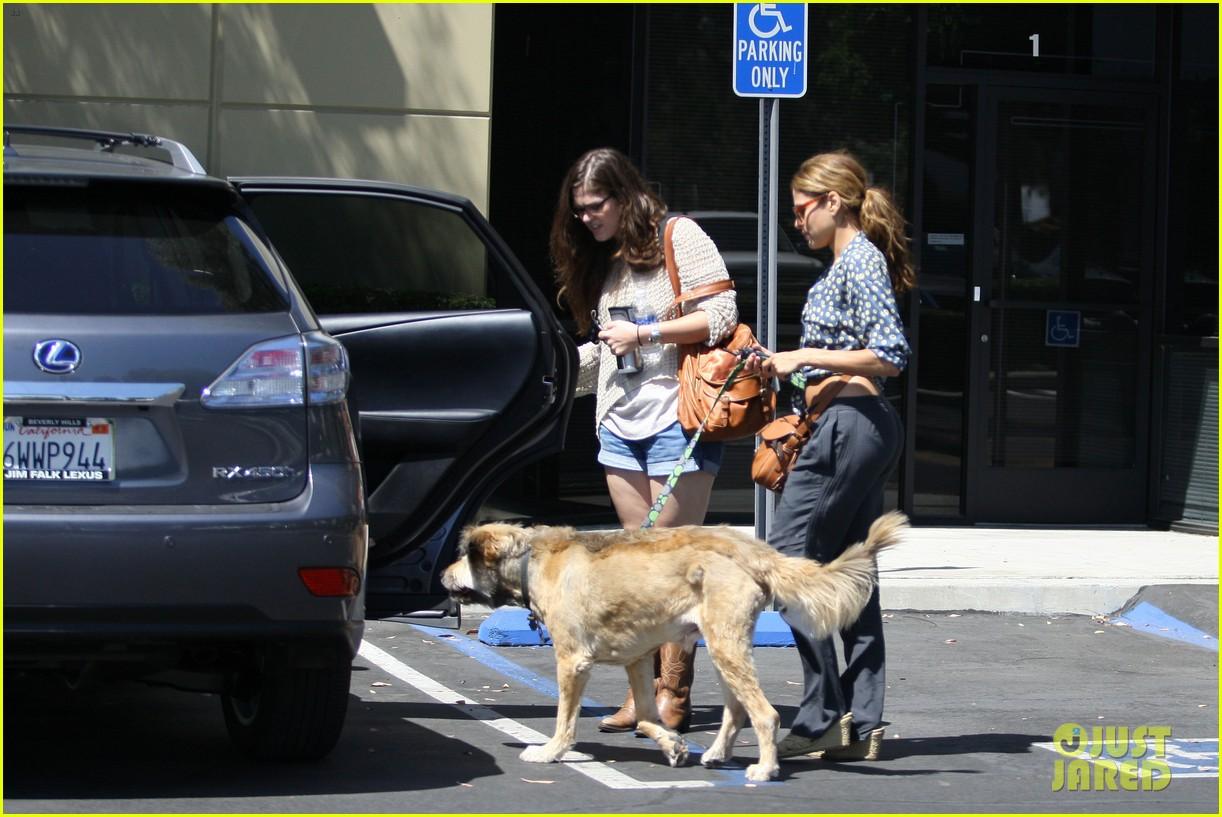 eva mendes dog day afternoon with hugo george 052712327