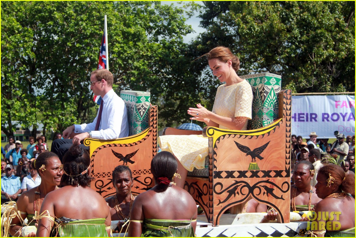 prince william duchess kate guadalcanal island jetsetters 032724244