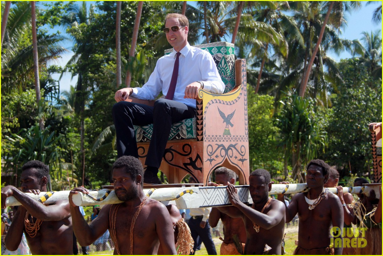prince william duchess kate guadalcanal island jetsetters 122724253