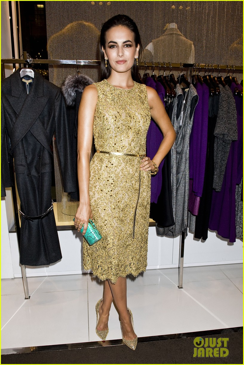 olivia munn camilla belle michael kors party 032721705