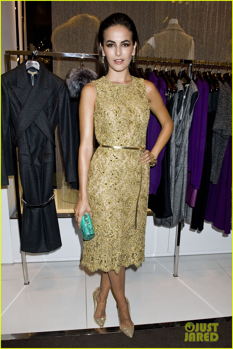 olivia munn camilla belle michael kors party 052721707