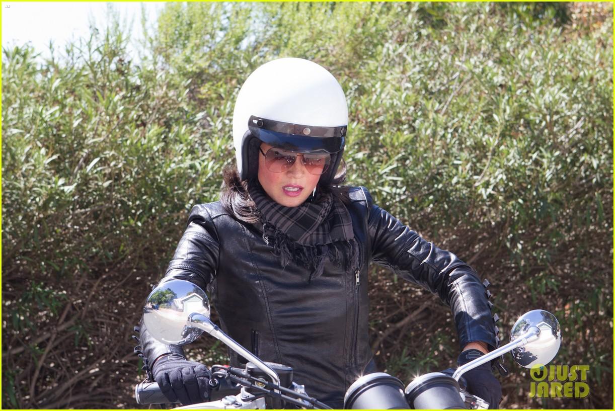 olivia munn biker babe 022717632