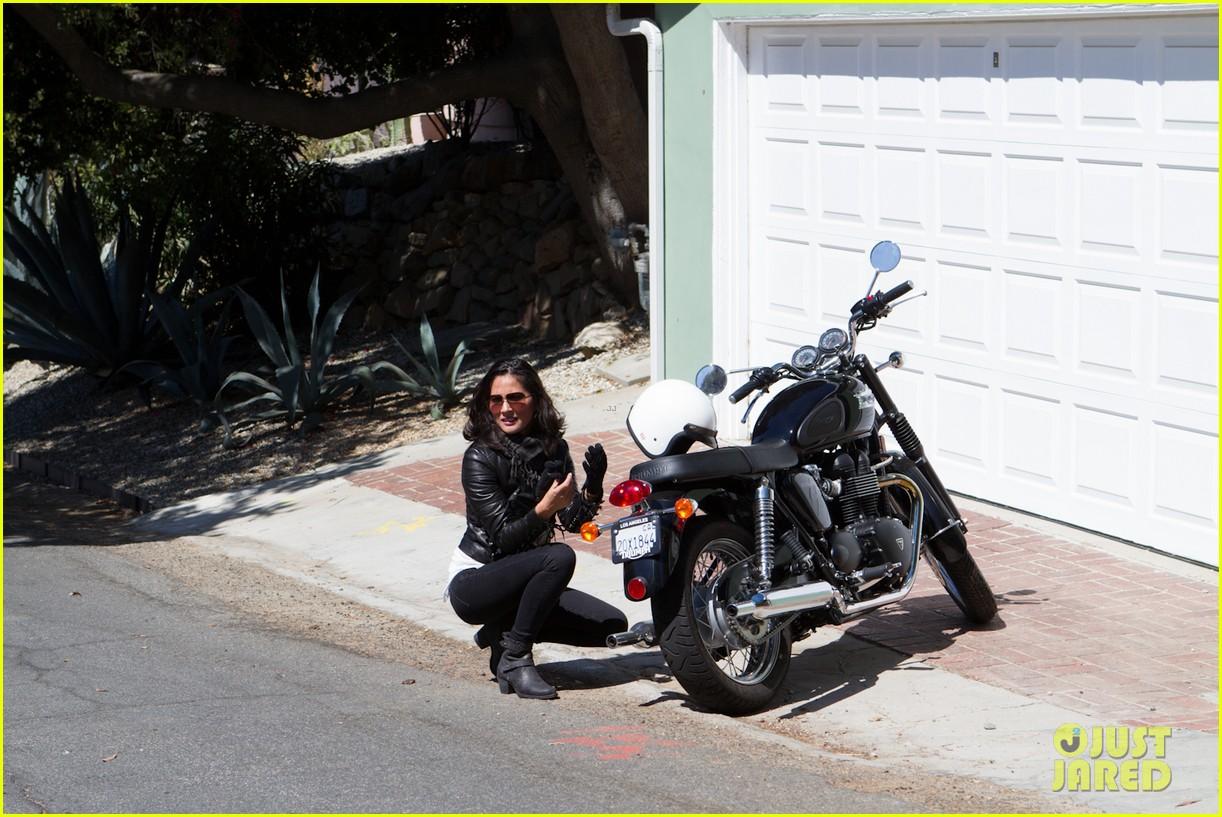 olivia munn biker babe 052717635