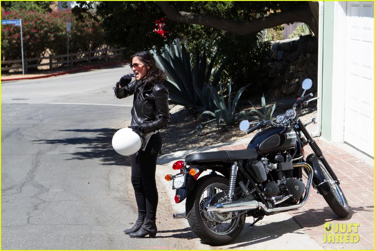 olivia munn biker babe 102717640
