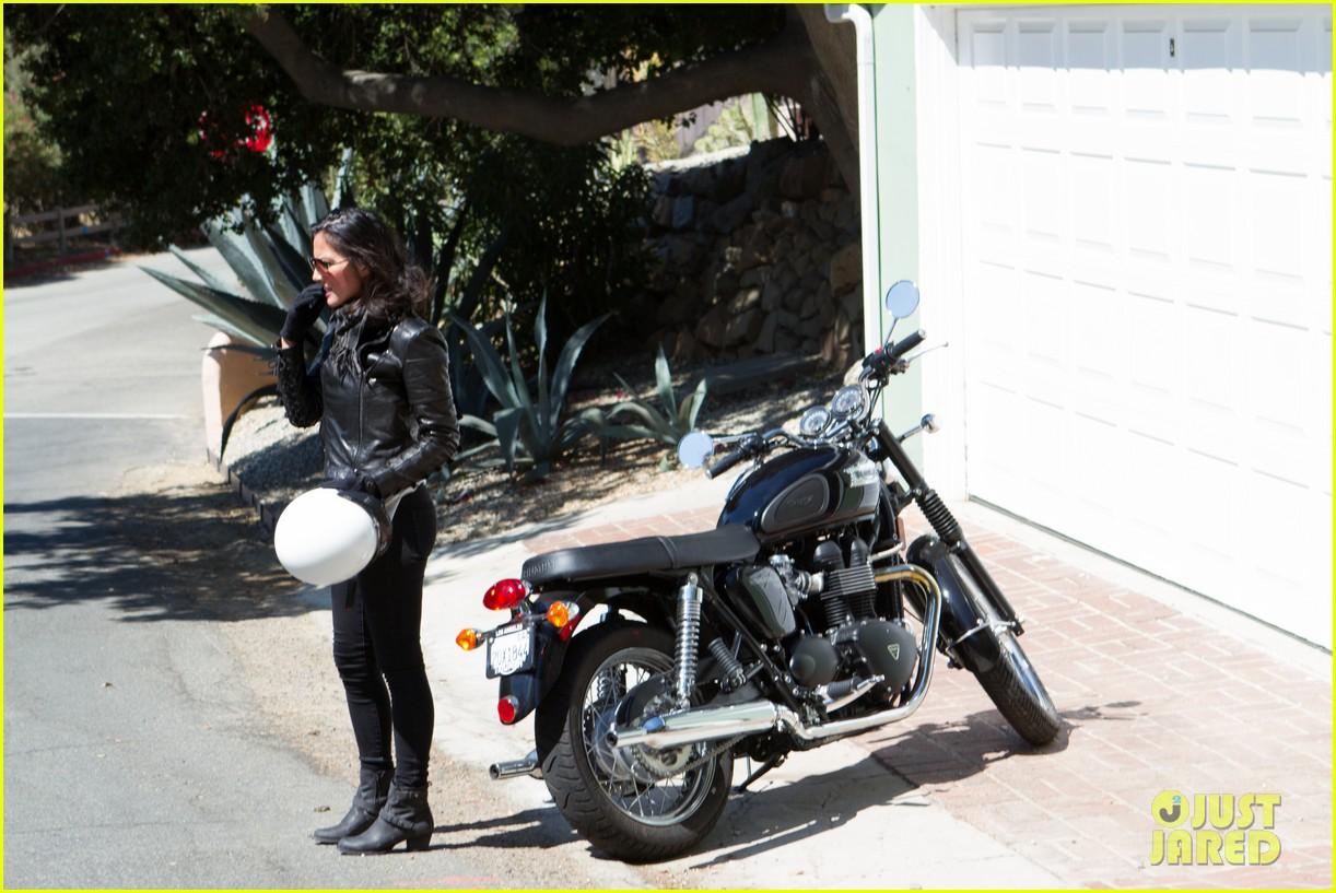olivia munn biker babe 112717641