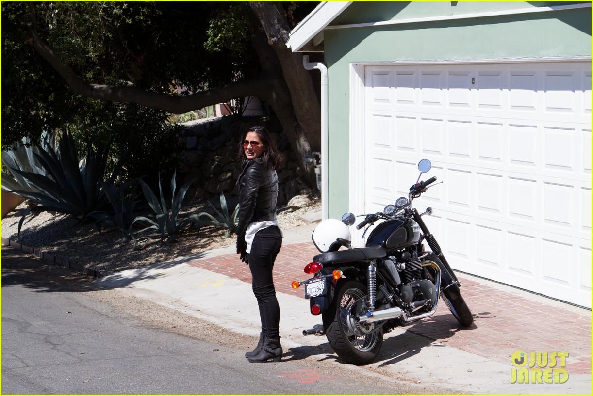 olivia munn biker babe 162717646