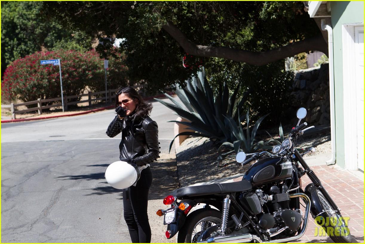 olivia munn biker babe 202717650