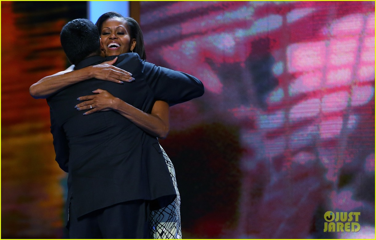 michelle obama preps democratic national convention in charlotte kal penn 022713541