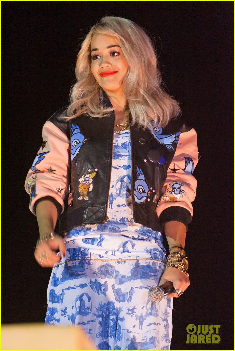 rita ora shine ya light video shoot in kosovo 022718558