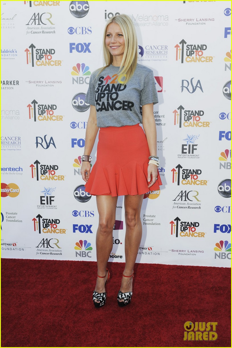 gwyneth paltrow stand up to cancer telecast 012716872