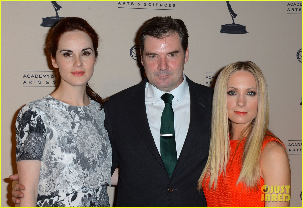 jessica pare michelle dockery atas emmy awards reception 04