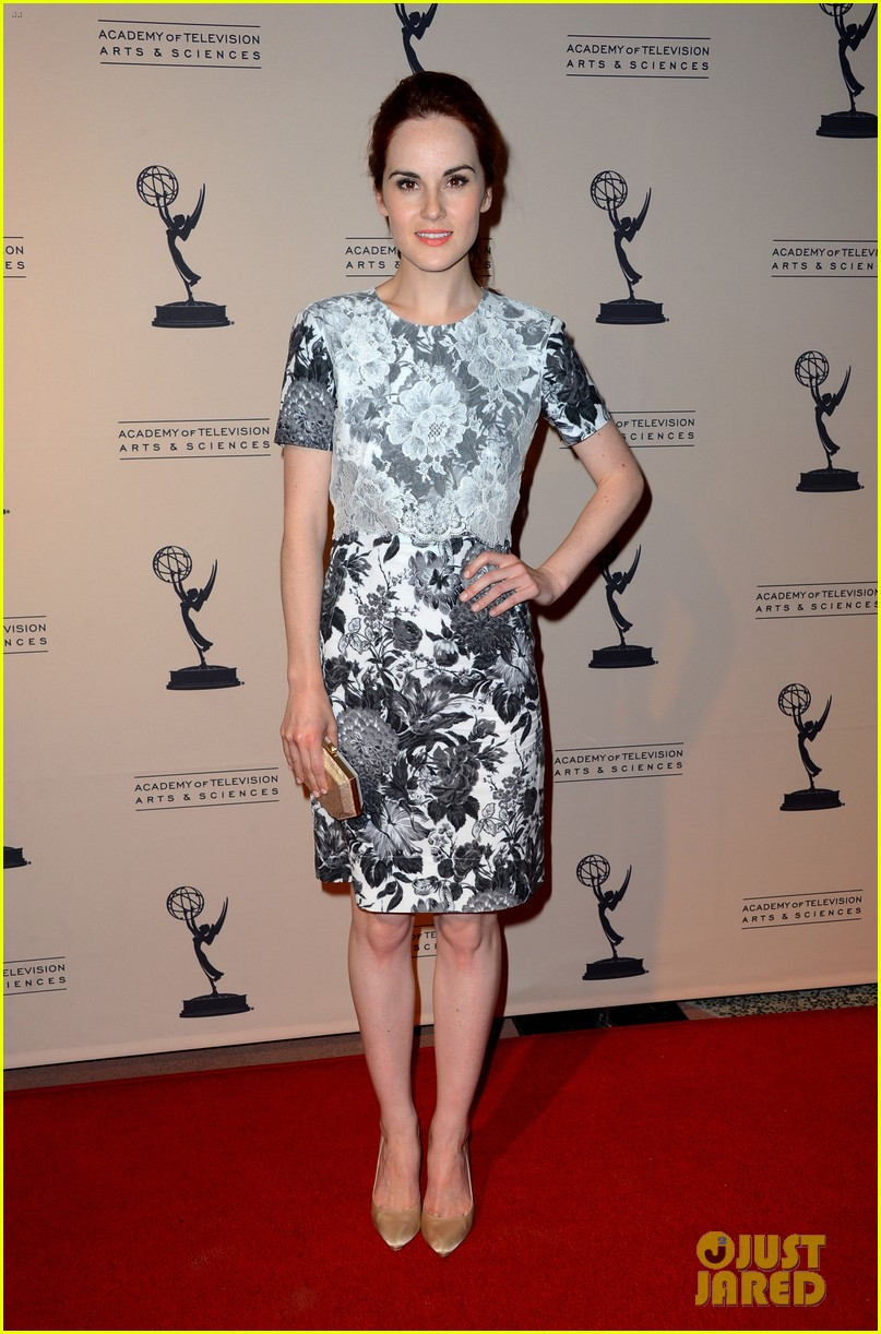 jessica pare michelle dockery atas emmy awards reception 082725691