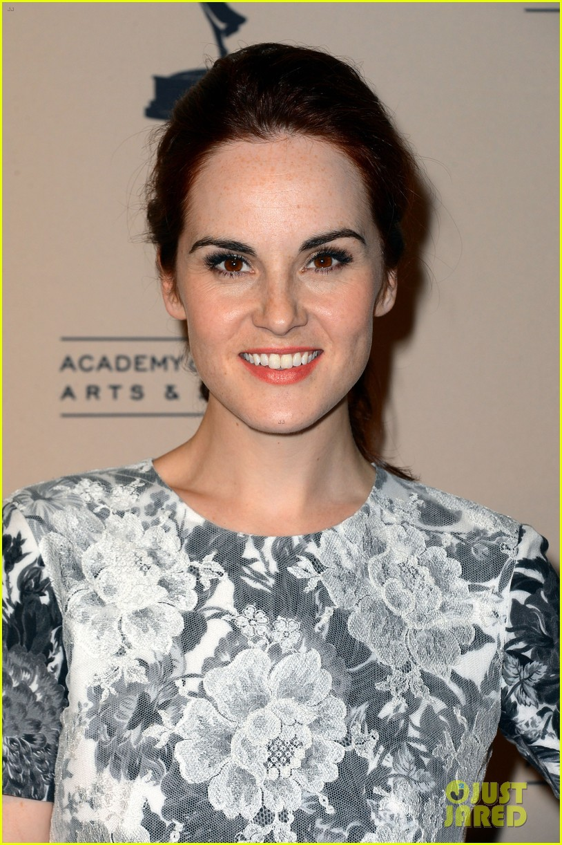 jessica pare michelle dockery atas emmy awards reception 112725694