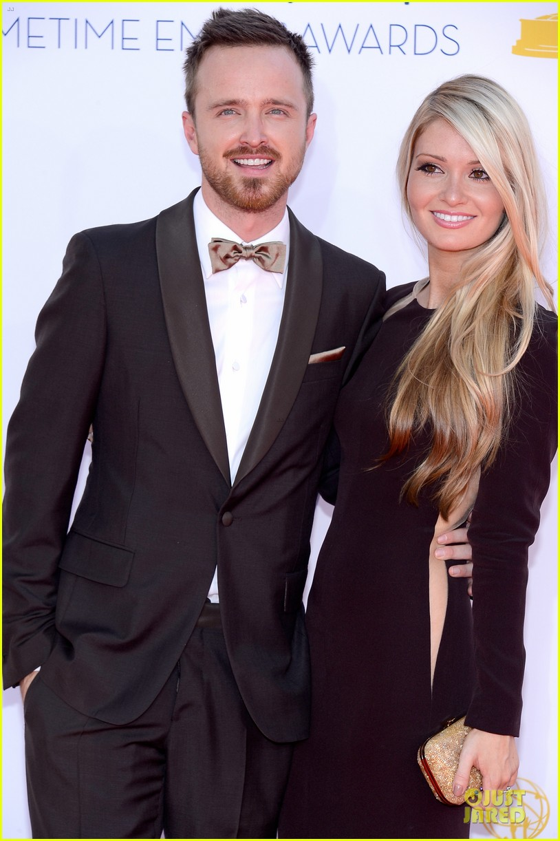 aaron paul lauren parsekian emmy awards 072727181