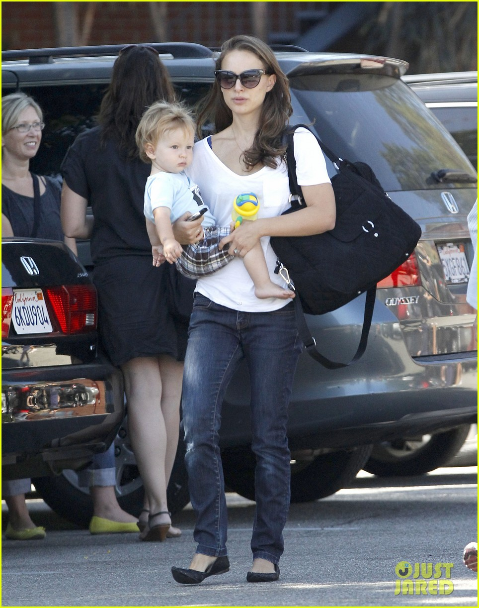 natalie portman quality time with aleph 032725313