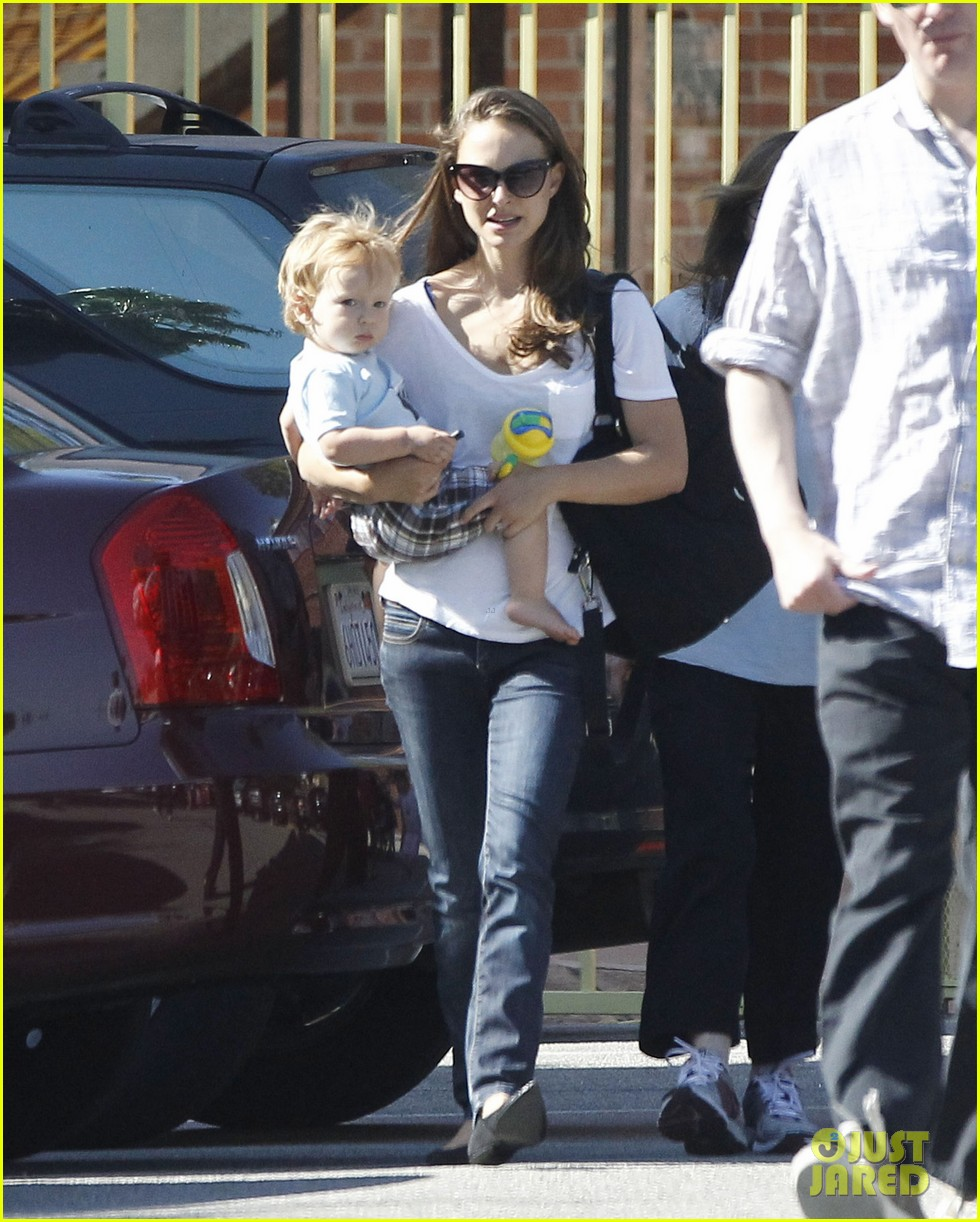 natalie portman quality time with aleph 06