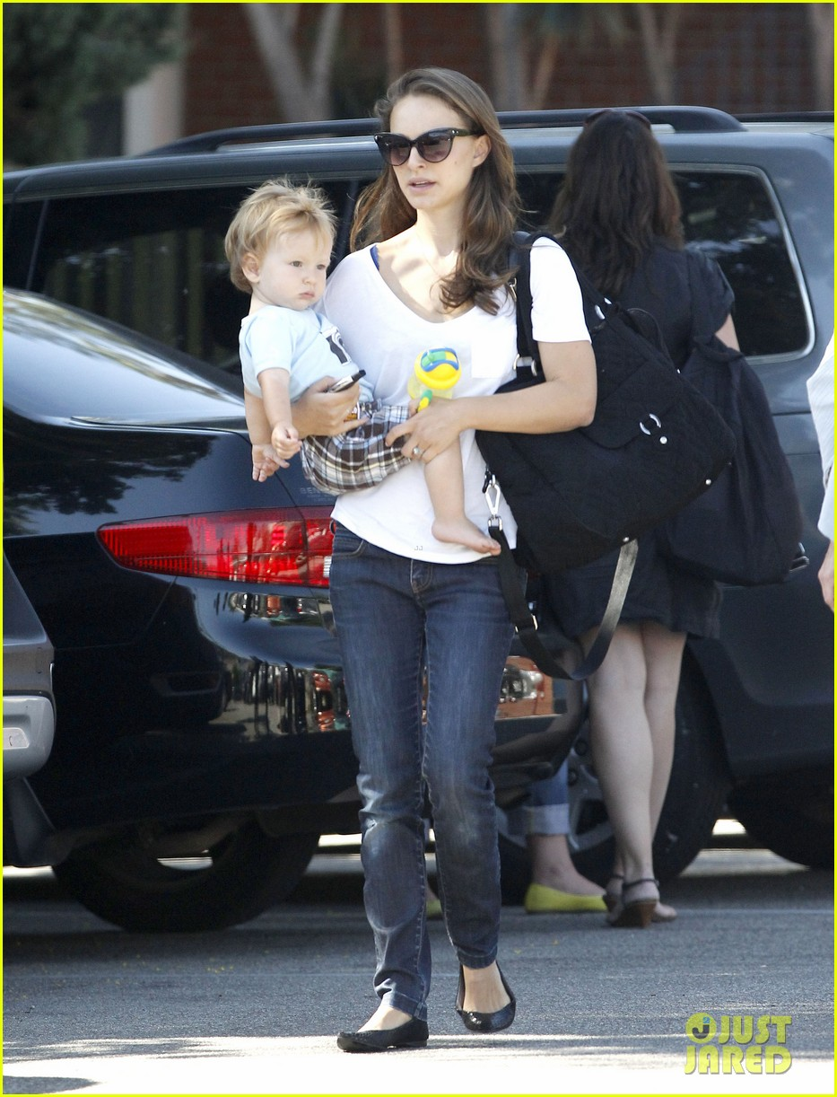 natalie portman quality time with aleph 12