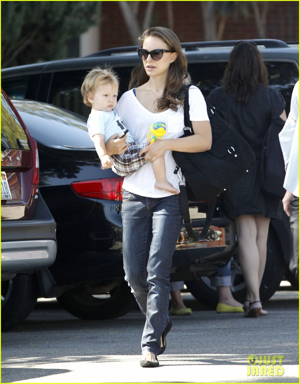 natalie portman quality time with aleph 13