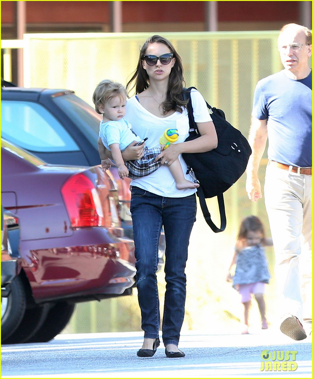 natalie portman quality time with aleph 202725330