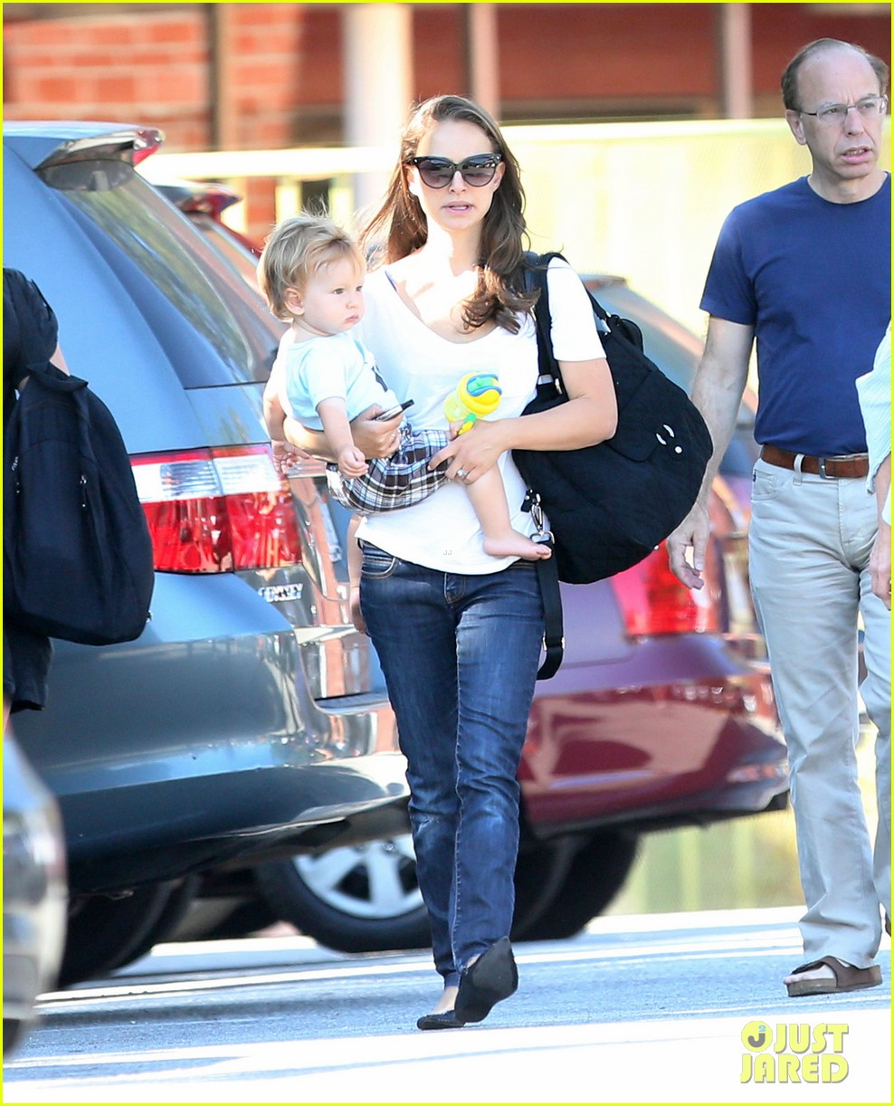 natalie portman quality time with aleph 24