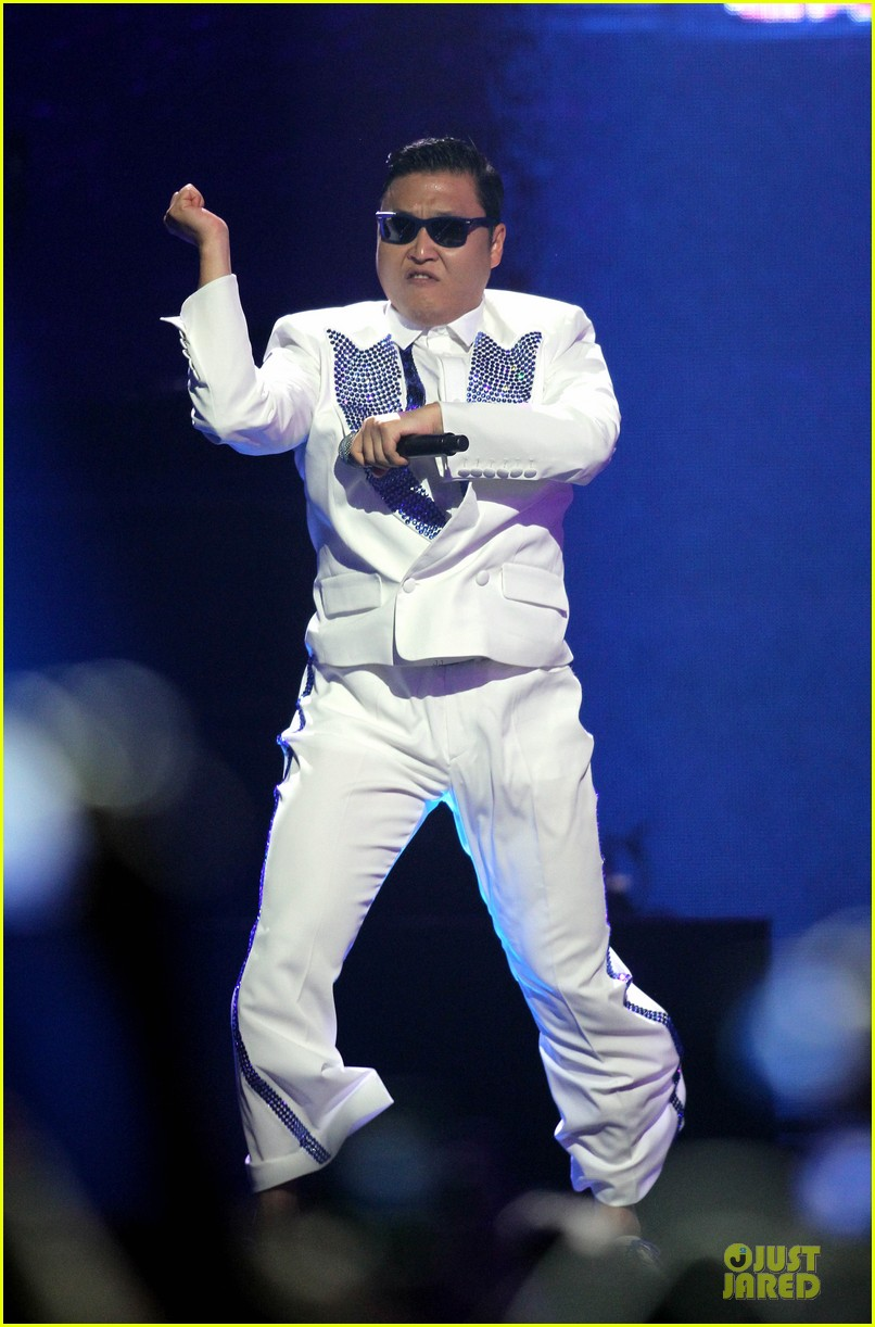 psy usher gangnam style dance iheartradio 012726091