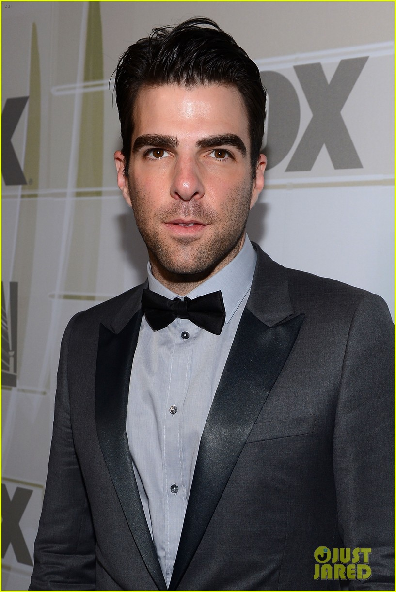 zachary quinto lily rabe fox emmys after party 02
