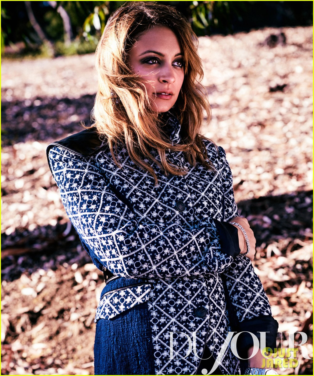 nicole richie covers dujour october 2012 012725671