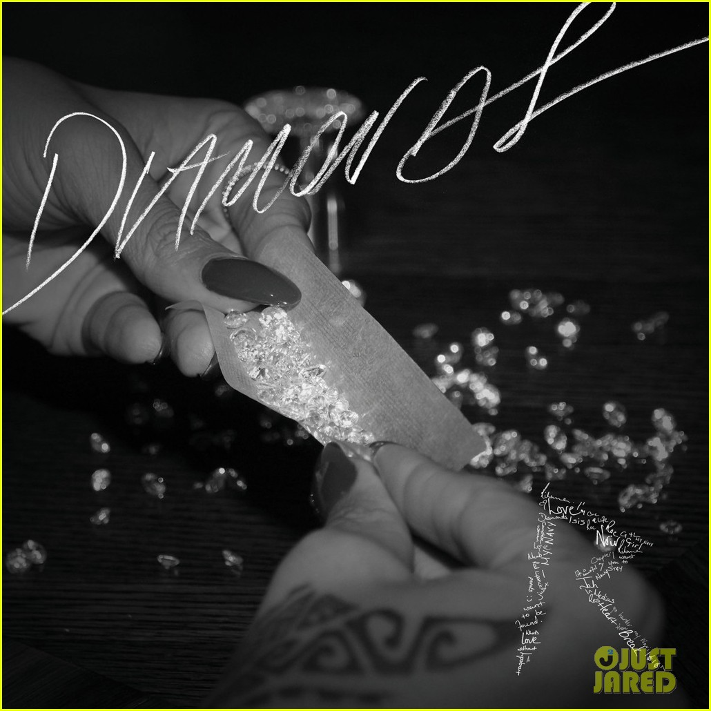 rihanna diamonds single cover artwork revealed