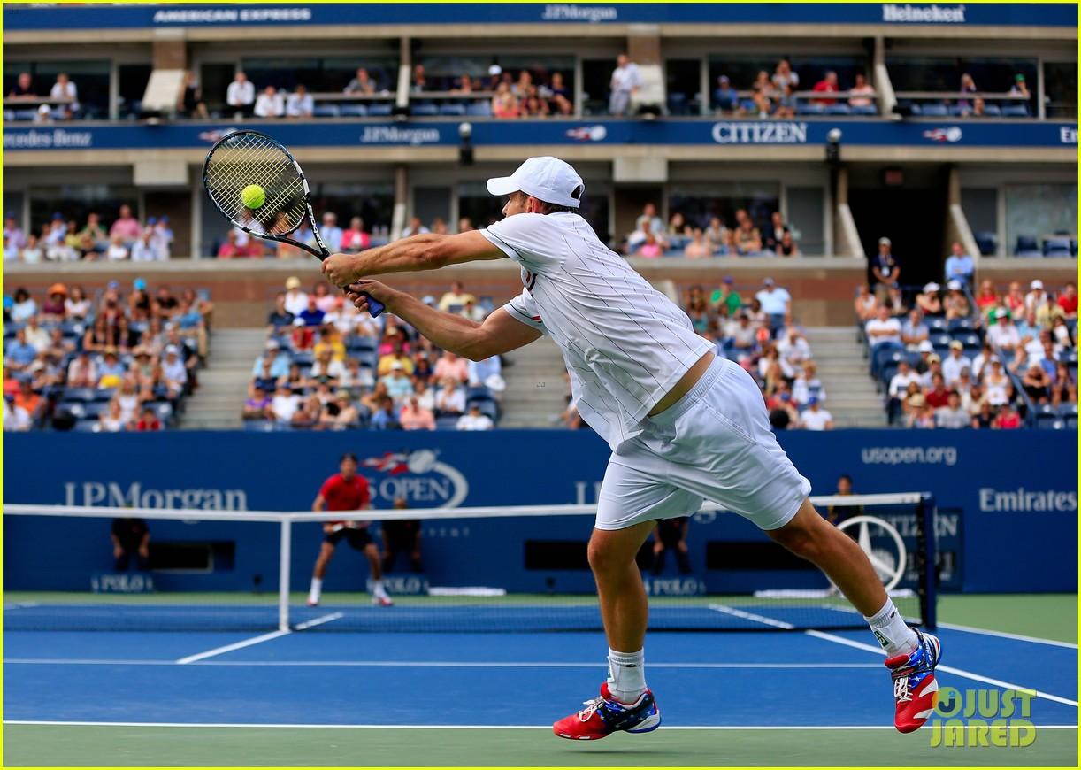 andy roddick plays final tennis match brooklyn decker cries 012714608