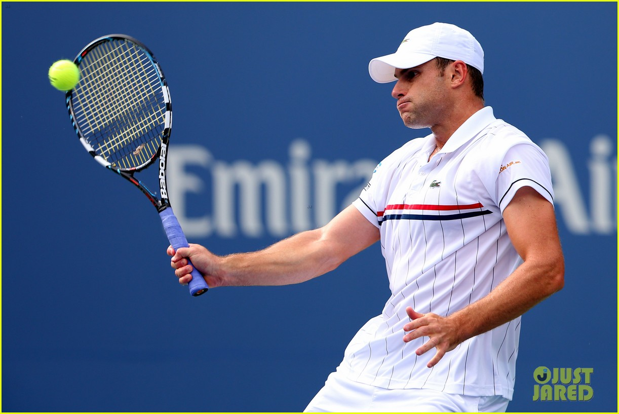 andy roddick plays final tennis match brooklyn decker cries 132714620