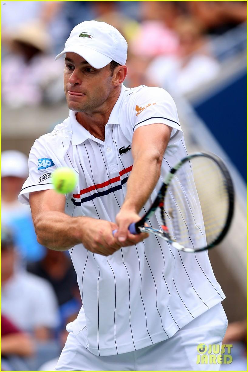 andy roddick plays final tennis match brooklyn decker cries 142714621