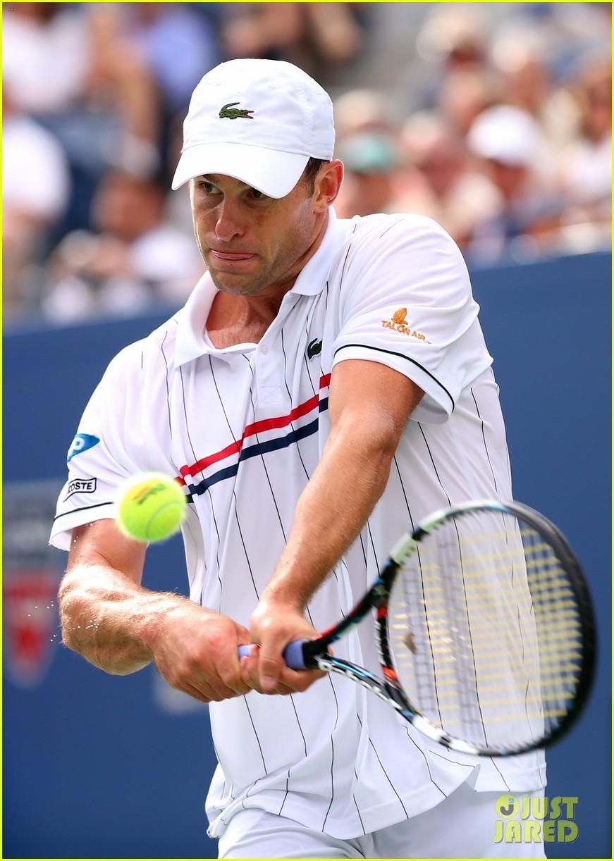 andy roddick plays final tennis match brooklyn decker cries 152714622