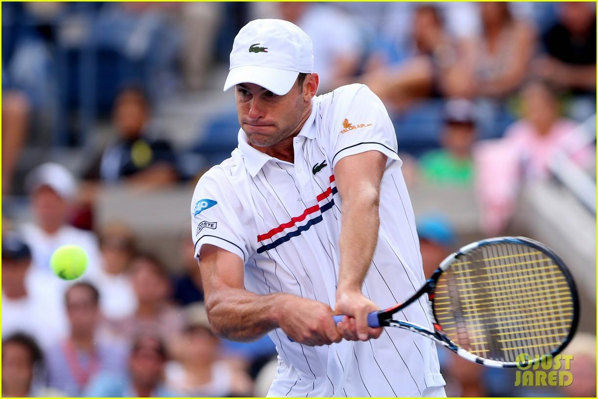 andy roddick plays final tennis match brooklyn decker cries 222714629