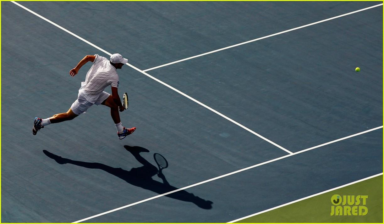 andy roddick plays final tennis match brooklyn decker cries 242714631