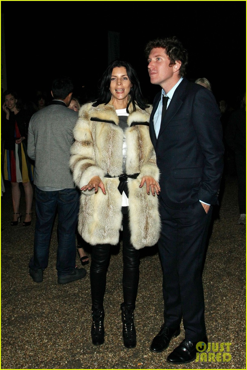 liberty ross serpentine gallery with mystery man 032723940