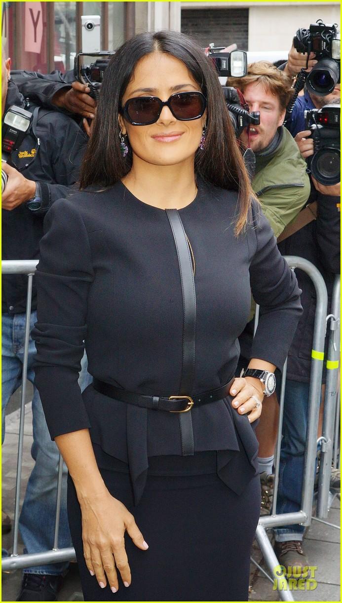 salma hayek savages bbc radio one promotion 022725530