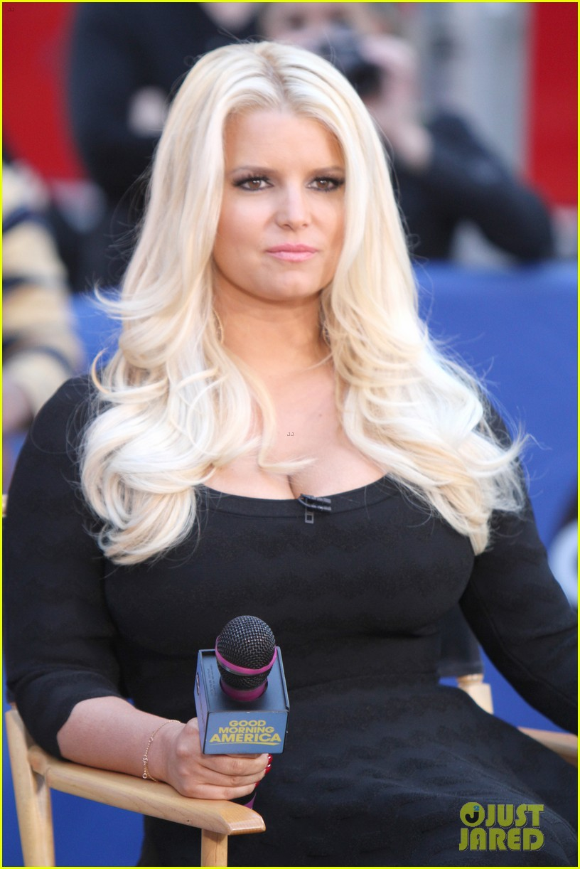 jessica simpson ellen weight loss